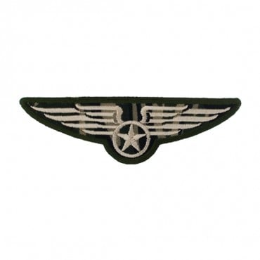 "4"" (102mm) Military Wings Applique"