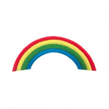 "3 1/2"" (90mm) Rainbow Applique"