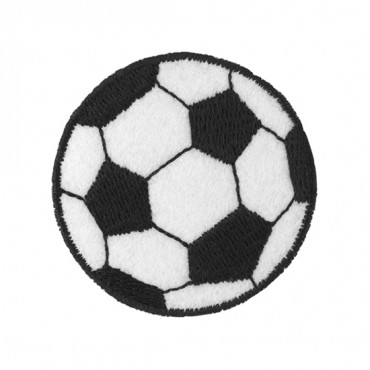 "2"" (50mm) Soccer Ball Applique"