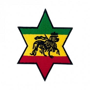 """3"""" (76mm) Star of Judah Applique"""