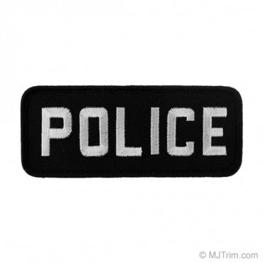 "4 5/8"" (118mm) Police Applique"