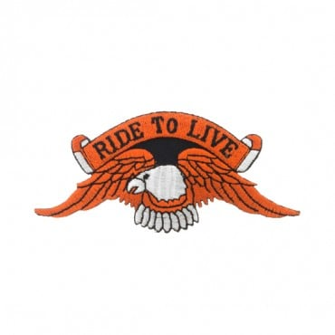 "4 1/4"" (108mm) Live To Ride Applique"
