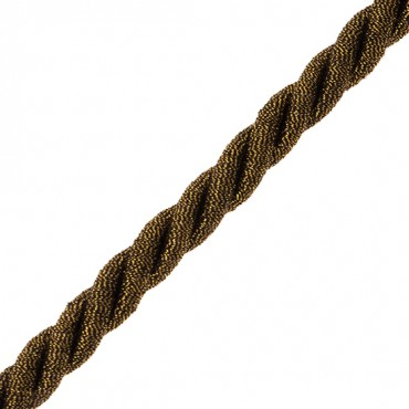 8mm Fine Metallic Twist Cord