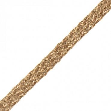 5mm Flat Metallic Braid