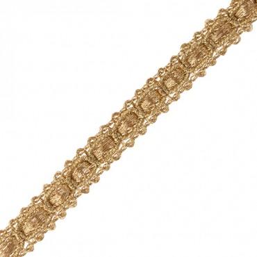 "3/8"" (10mm) Chain Link Metallic Braid"