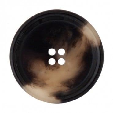 Classic Faux Horn Button