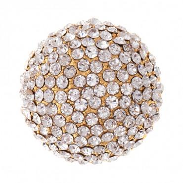 Brilliance Rhinestone Dome Button