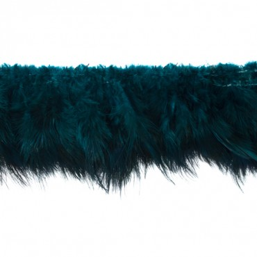 "4"" Jewel Tone Feather Fringe"
