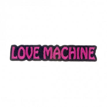 "4 1/4"" X 3/4"" LOVE MACHINE APPLIQUE"
