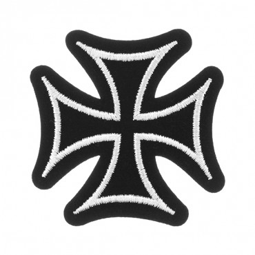 "3"" MALTESE CROSS APPLIQUE"