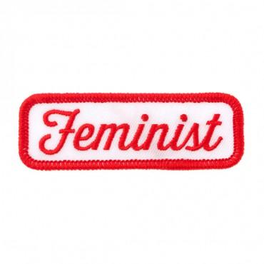 "3"" X 1"" FEMINIST PATCH"