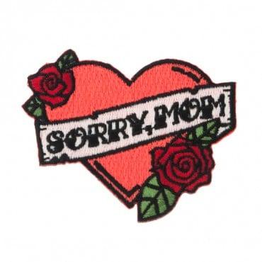 "2 3/4"" x 2 1/2"" Sorry, Mom Patch"