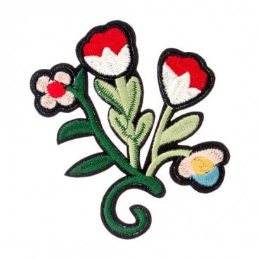 Flower Iron-on Patch