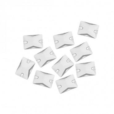 8x10mm Rectangle Sew-On Jewel