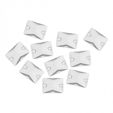 13X18mm Rectangle Sew-On Jewel