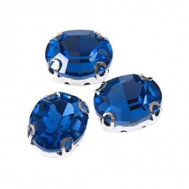 18x25mm Oval Sew-On Jewel w/ Settings