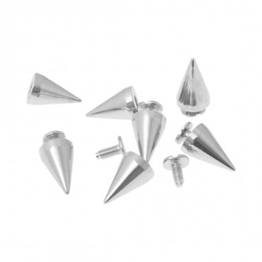 10MM X 15MM METAL SPIKES WITH SCREW
