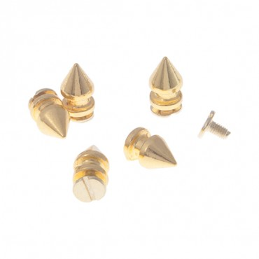 8MM X 13MM METAL SPIKES WITH SCREW