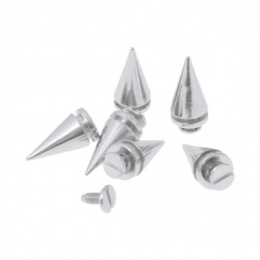 10MM X 20MM METAL SPIKES WITH SCREW