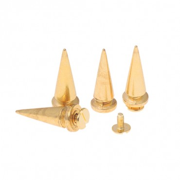 10MM X 26MM LONG METAL SPIKES WITH SCREW