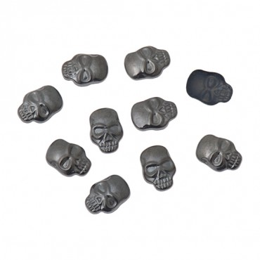 12MM X 8MM IRON-ON SKULL NAILHEADS