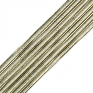 "1"" (25mm) Rayon Rib Braid"