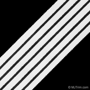 "2 1/8"" STRIPE RIBBON"