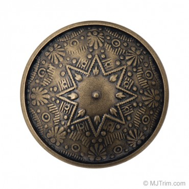 ORNATE METAL BUTTON