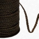 "3/16""- 3 PLY FLAT LEATHER BRAID"