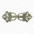 4&quot;x1 5/8&quot; RHINESTONE BUCKLE