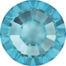 Swarovski Flatback Rhinestones - Aquamarine