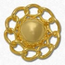 CHAIN FASHION BUTTON - GOLD
