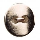 CONCAVE METAL BUTTON W/SHANK - NICKEL