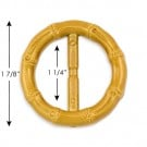 "1 7/8"" (48mm) Round Bamboo Buckle"