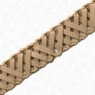 "5/8"" FAUX LEATHER BRAID"