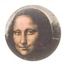Mona Lisa Button