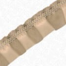 "7/8"" FAUX LEATHER RUFFLE STRETCH"