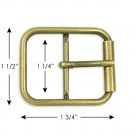 "1 1/2"" X 1 3/4"" BUCKLE W/PRONG"