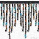"6 1/2"" (165mm) Beaded Fringe"
