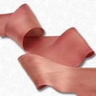 "1"" HAND DYED SILK SATIN RIBBON"