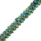 "7/8"" 2-ROW STRETCH SEQUINS"