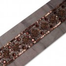 "1.5"" BEADED BORDERS - BRONZE"