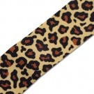 1.5&quot; SINGLE FACE LEOPARD GROSGRAIN