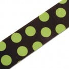 1.5&quot; GROSGRAIN PLAYFUL POLKA DOTS RIBBON