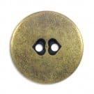 Fashion Metal Button 2-Holes