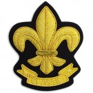 3 1/8&quot; X 3 3/4&quot; FLEUR DE LIS
