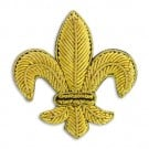 1 3/4&quot; X 1 3/4&quot; FLEUR DE LIS