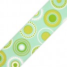 1.5&quot;S/F CIRCLE MANIA GROSGRAIN