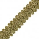 20MM METALLIC HEAVY CHINESE BRAID