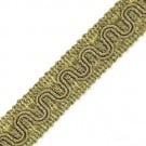 21MM FINE METALLIC SCROLL BRAID